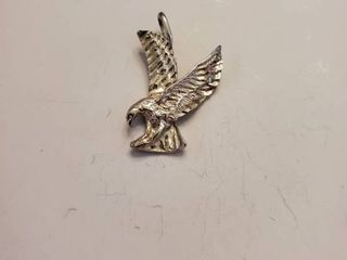 American Eagle Sterling Silver Pendent