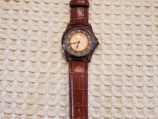 Genuine U S   Coin   Penny Watch   leather Band