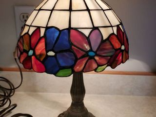 Tiffany Style Vintage Floral Colorful Desk lamp
