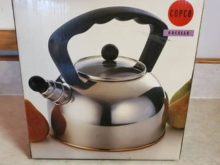 Copco Polished Whistling Tea Kettle