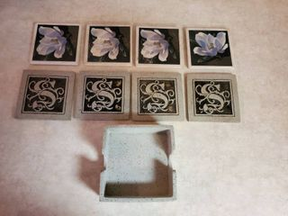 lot of 2 Sets of Decorative Coasters