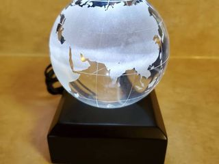 lighted Globe Paperweight