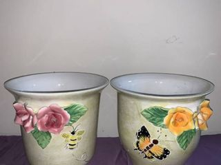 Pair of Butterfly Planters location Basement Closet