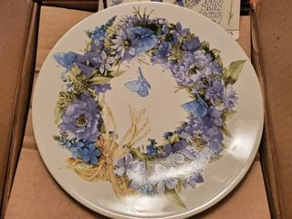 Blue Skies Collection Hallmark Collectible Plate