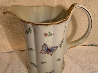 Godinger and Co Porcelain Butterfly Pitcher location Kitchen