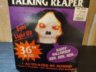 Electronic Battery Operated Talking Reaper