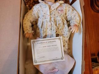 Here Comes Trouble Collectible Doll with Certificate