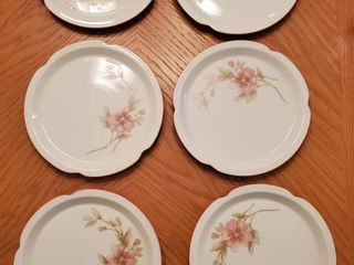 Crowning Touch Collectible Appetizer Plates   6 Total