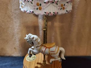 WIllITS Design Musical Carousel Horse  Tested and Working