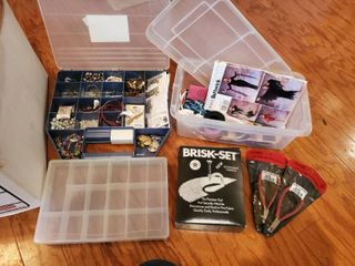 lot of Jewelry Making and Crafts Supplies