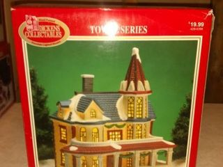 Porcelain Towne Series lighted House