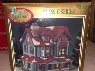 Classic Series Dickens lighted House