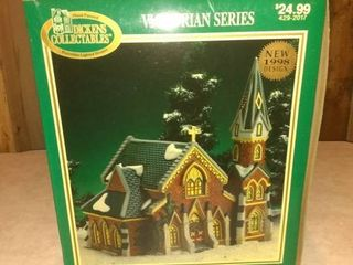 Dickens Victorian Series lighted Church