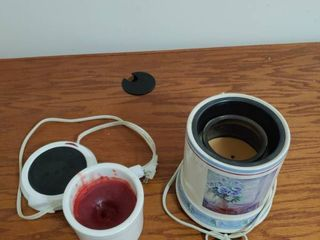 lot of 2 Candle Warmer