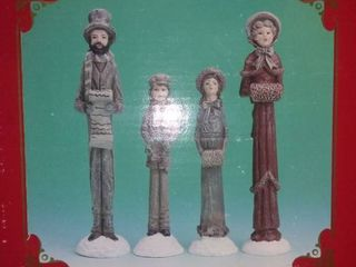 Windsor Collection Carolers  Family Of 4 In Original Box
