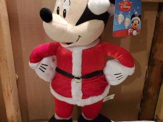 Mickie Mouse 24 inch Santa Cloth