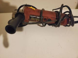 Chicago Electric 4 5 Angle Grinder  Tested and Working