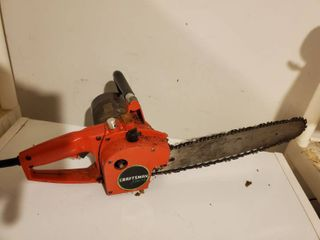 Craftsman Electric Chainsaw  with Safety Tested and Working