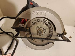 Corded Skilsaw 7 25 Circular Saw Tested and Working