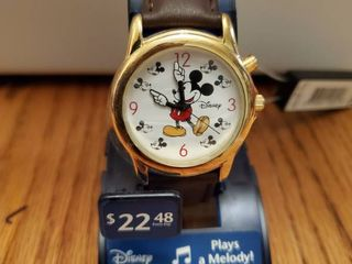 Disney Mickwy Mouse watch with Mickey Hands for Hour and Minutes