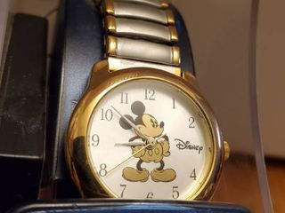 NIB Disney Mickey Mouse Watch 2 Toned