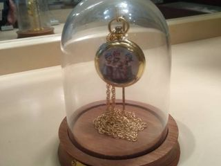 M  J  Hummel Pocket Watch With Dome and Base