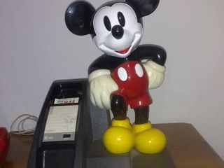 Vintage Mickey Mouse land line Telephone