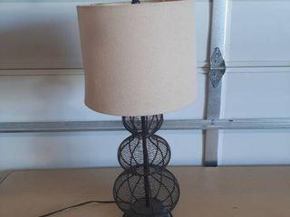 Metal Decorator Table lamp