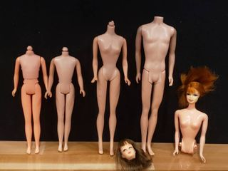 Vintage Barbie   Friends Parts   1960 Barbie Body  More