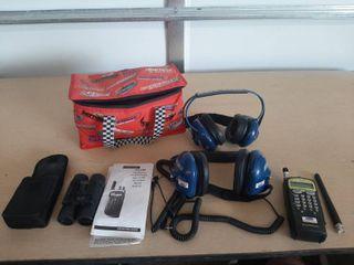 Race Scan Scanner and Binoculars in Bag Cooler