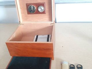 Humidor and Cigar Cutters
