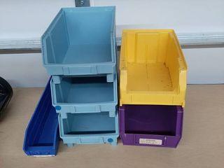 Assorted Storage Bins