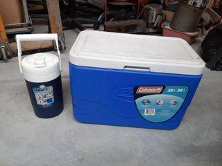 28 Qt Coleman Cooler and Water Jug