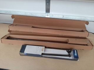 2 Curtain Rods and Towel Bar