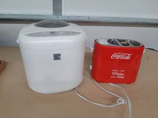 Hot Dog Toaster and Kenmore Bread Machine