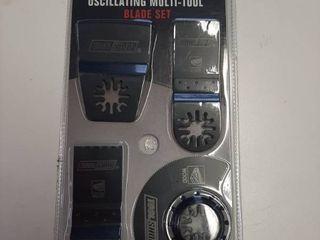 Oscillating Multi tool Blade Set   4 Pieces