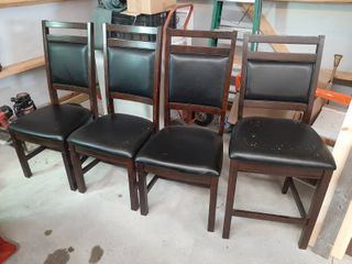 3 Dinning Chairs and 1 Barstool