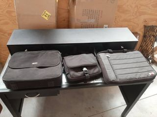 2 laptop and 1 Tablet Bags