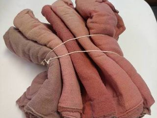 Bundle of 50 Washed Shop Rags