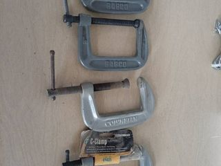 4  3  C Clamps   2 are Columbian by Wilton and 2 Babco