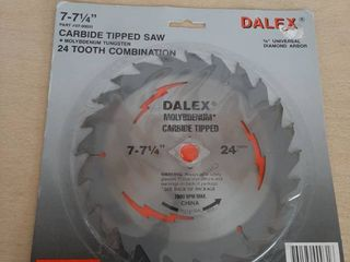 Dalex 7 71 4  Molybdenum Carbide Tipped Circular Saw Blade