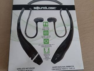 Soundlogic Bluetooth Rechargeable Over the neck Earbuds