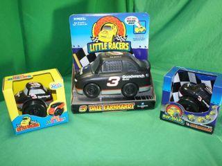 Two Dale Earnhardt Mini Racers   One Dale Earnhardt little Racers NASCAR Ertl Preschool