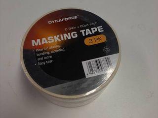 3 Pack Masking Tape 0 94  X 60 Yards