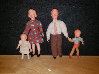 1960 s Fritz Canzler Caco Dollhouse Family