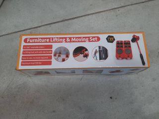 5 Piece Furniture Ez lifter Mover Slider Set