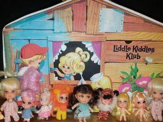 Adorable liddle Kiddles Klub House   Dolls