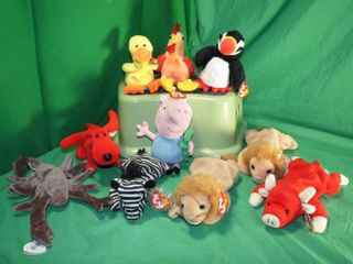 lot of Beanie Babies   Animals