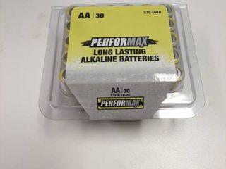 30 Performax AA Alkaline Batteries long lasting   Exp Sept 2029