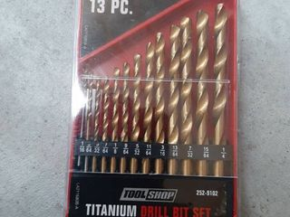 Tool Shop Titanium Drill Bit Set   13 Piece
